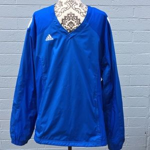 Adidas Royal Blue Active Windbreaker
